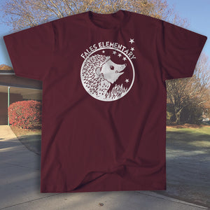 "Fales Elementary full front ""logo"" T shirt"