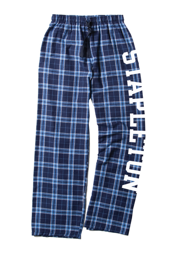 Stapleton School Youth & Adult Flannel Pants
