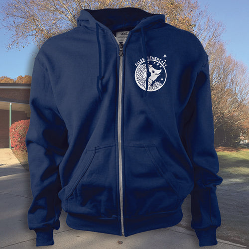 Fales Elementary School Full Zip Sweatshirts