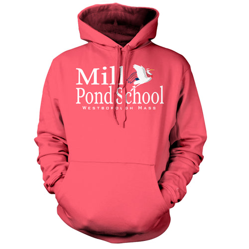 NEW!! Mill Pond Crimson Fall Hoodie