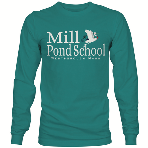 Mill Pond Peacock Long Sleeve T