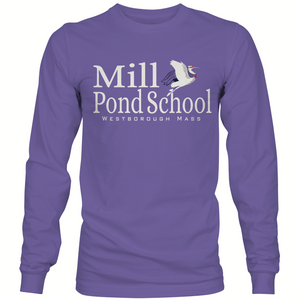 Mill Pond Amethyst Long Sleeve T
