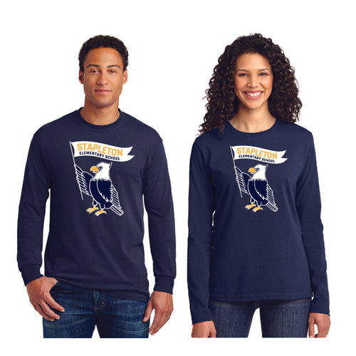 Stapleton School Long Sleeve Adult T's
