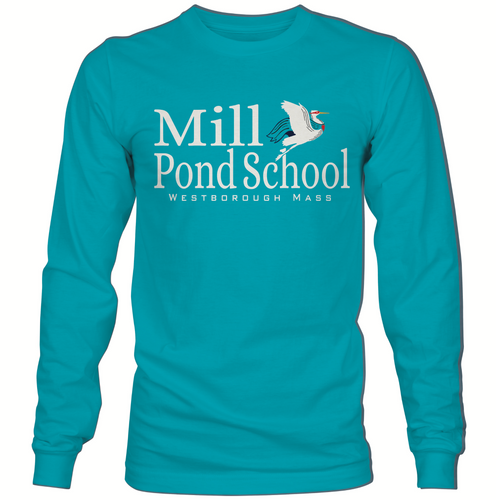 Mill Pond Tidal Wave Long Sleeve T