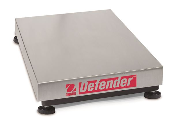 "Ohaus 14"" x 12"" Defender Bases D30BR, Legal For Trade, Stainless Steel, 60 lbs x 0.2 lb"