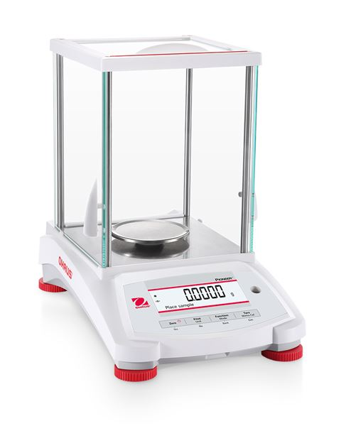 Ohaus Pioneer Analytical PX124/E, Stainless Steel, 120g x 0.0001g