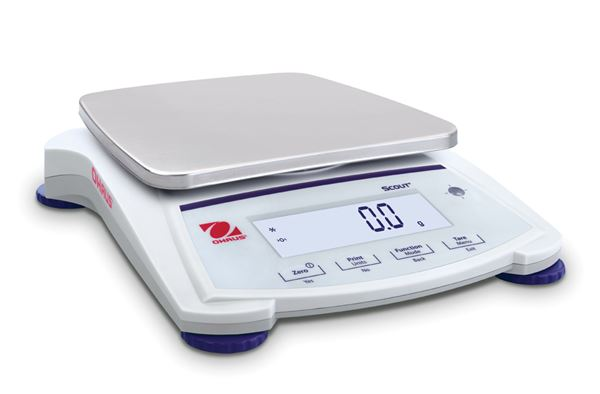 Ohaus Scout SJX/E Jewelry Scale SJX6201N/E, Legal For Trade, 6200g x 1 g