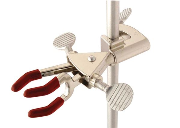 "Ohaus Multi Purpose Clamps CLM-FIXED3DZM, Nickel Plated, 0"" - 2.72"""