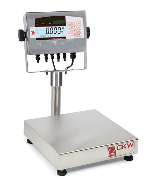 "Ohaus 12""x12"" CKW Series NTEP Bench Scales CKW30L71XW 60lbsx0.01lb"