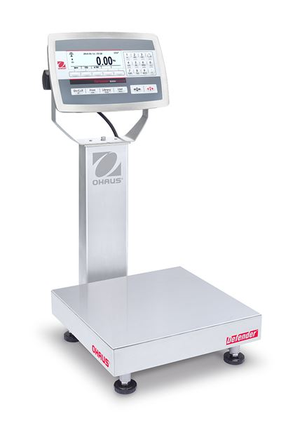 Ohaus Defender Bench Scales D52XW25WQR6, Legal for Trade, 50 lbs x 0.01 lb