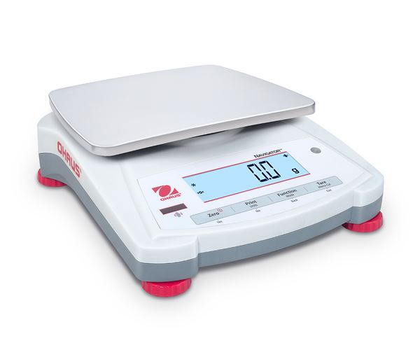 "Ohaus 5.7""x7.5 NV Series Portable Balances NV2201 2200gx0.1g"