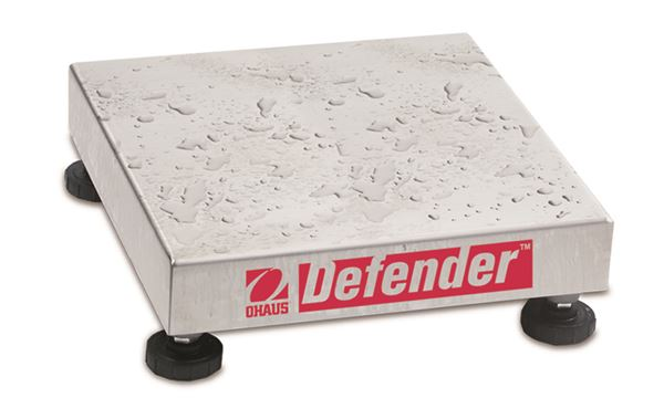 "Ohaus 12"" x 12"" Defender W Series D25WR, Legal For Trade, Stainless Steel, 50 lbs x 0.01 lb"