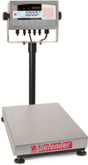 "Ohaus 14""x12"" Bench Scale, D71XW60HR1 150lbx60kg - Libertyscales"