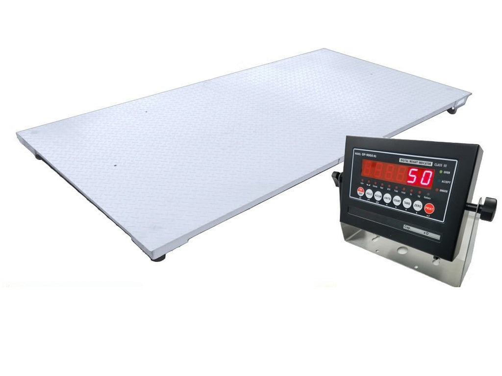 "OPTIMA New 5x7 (60""x84"") Floor Scale 