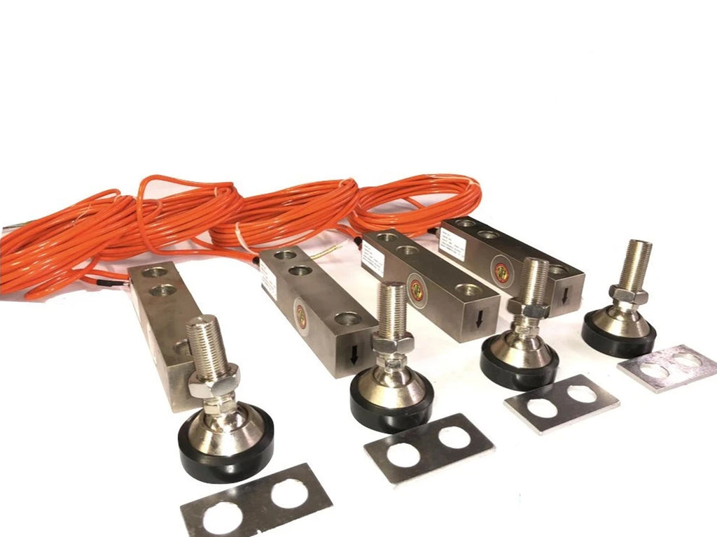 SellEton GX-1-5k lb (Large Envelope)  NTEP Shear Beam Load Cell Sensors for Platform Floor Scale with Feet & Spacers