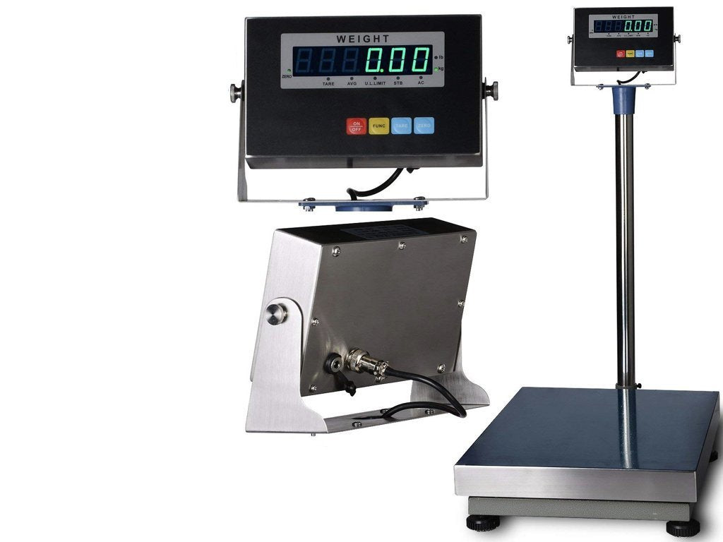 SL-Bench-TCS Bench Scale with Stainless Steel Indicator & Platter