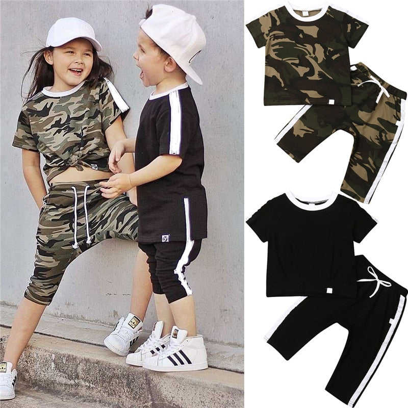 Fashion Tracksuit 2PCS - babyland.cloth