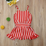 SO RED ! Romper - babyland.cloth