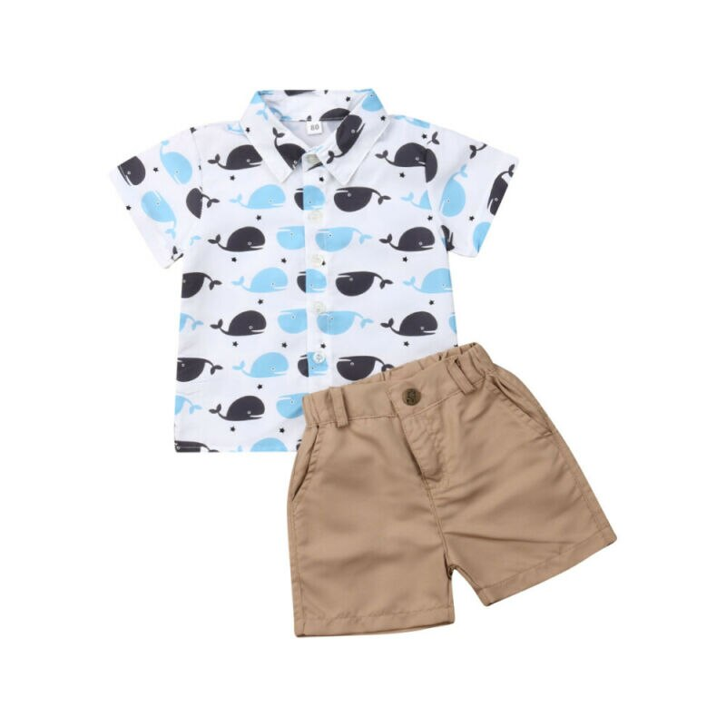 Whale Outfit 2PCS - babyland.cloth
