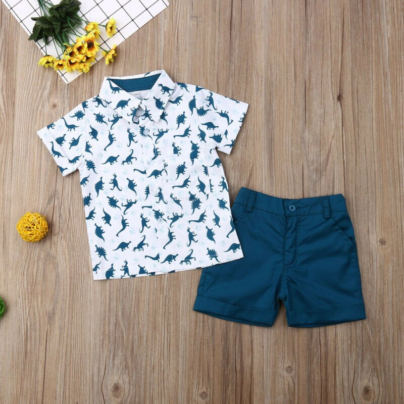 Dino Outfit 2PCS - babyland.cloth
