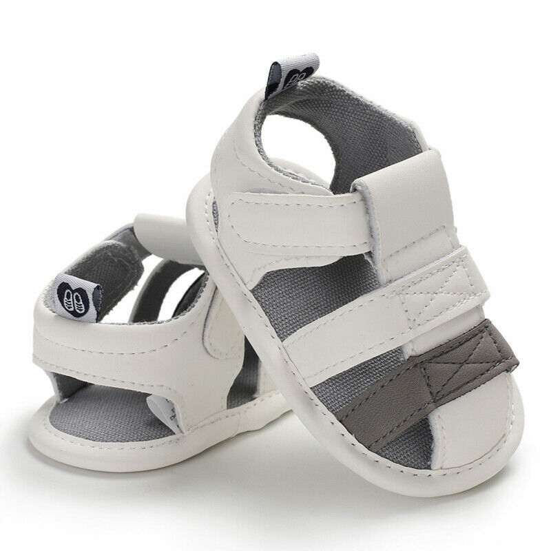 Gray Sandals - babyland.cloth