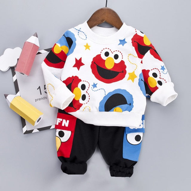 Elmo Outfit 2Pcs - babyland.cloth