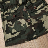 Camouflage Blouse - babyland.cloth