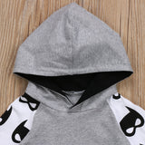 Bat-little-man Tracksuit Hooded 2Pcs - babyland.cloth