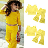 Yellow Outfit 2PCS - babyland.cloth