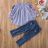Orchid Outfit 2PCS - babyland.cloth