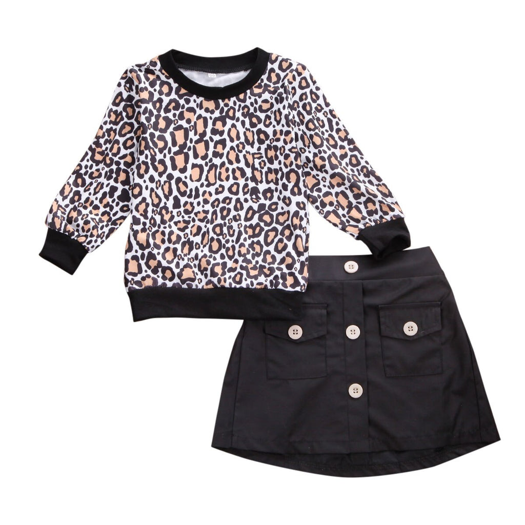 Leopard Outfit 2PCS - babyland.cloth