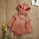 Helen Bodysuit + Hat - babyland.cloth