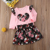 Bonica Rose Outfit 2PCS - babyland.cloth