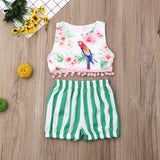 Parrot Outfit 2PCS - babyland.cloth