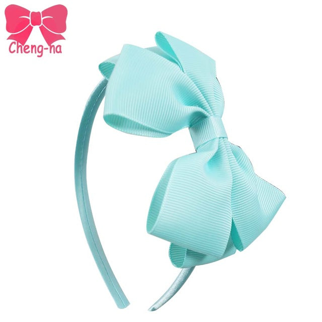 11pcs/lot High Quality Solid Hairbands - babyland.cloth