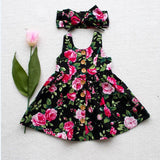 Dress Sleeveless+Headband - babyland.cloth