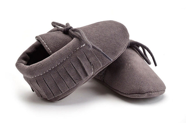 Tassel Moccasin - babyland.cloth