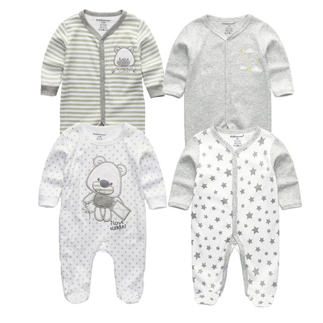 2833ed495 ... Load image into Gallery viewer, 3/4/5Pcs Newborn Clothes Long Sleeve ...
