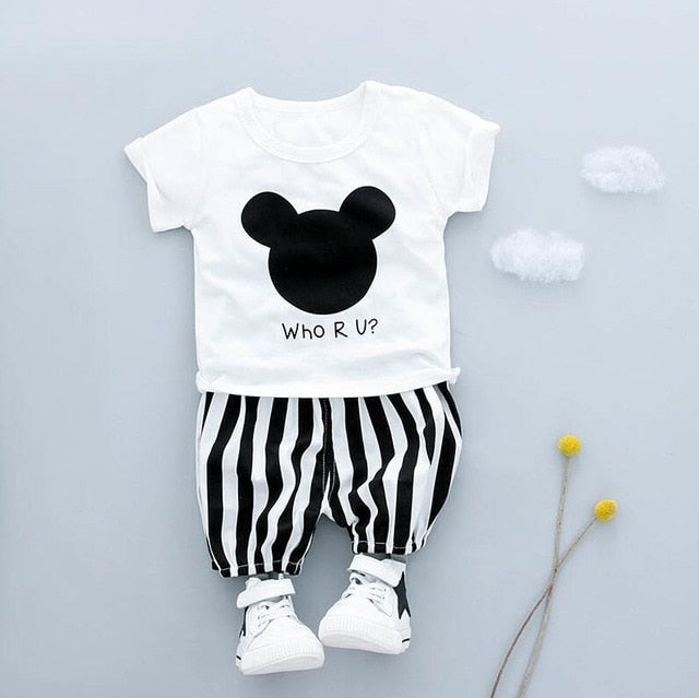 """Mickey"" Matching outfits - babyland.cloth"