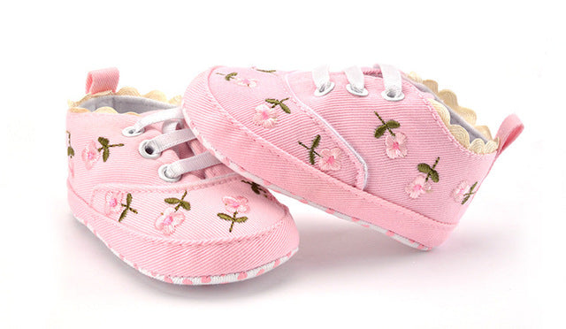 Flowers Shoes - babyland.cloth
