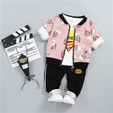 ICE-CREAM Outfit 3PCS - babyland.cloth