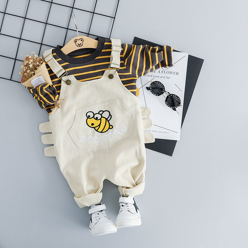 Mr bee Outfit 2PCS