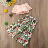 Floral Clothing Sets 2PCS - babyland.cloth