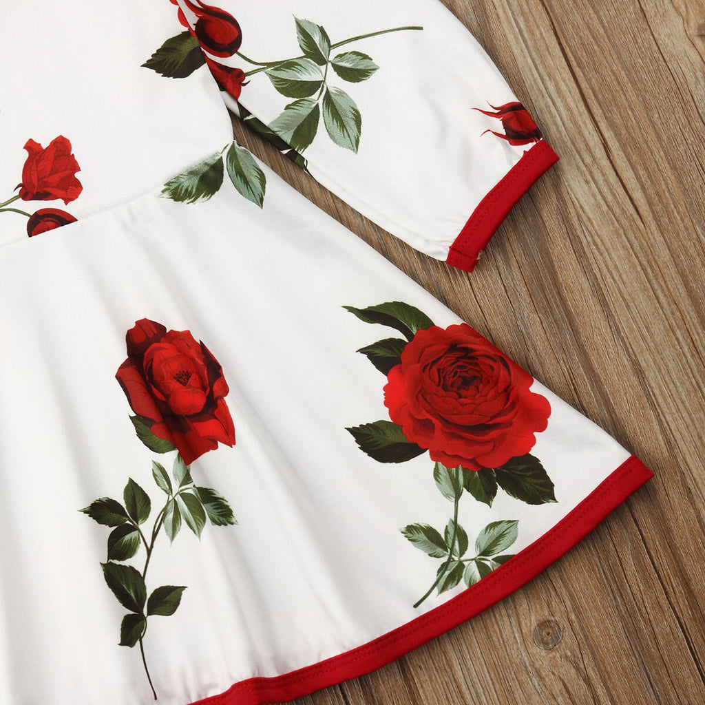 Floral Dress - babyland.cloth