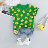 Little Duck Clothing Sets 2PCS - babyland.cloth