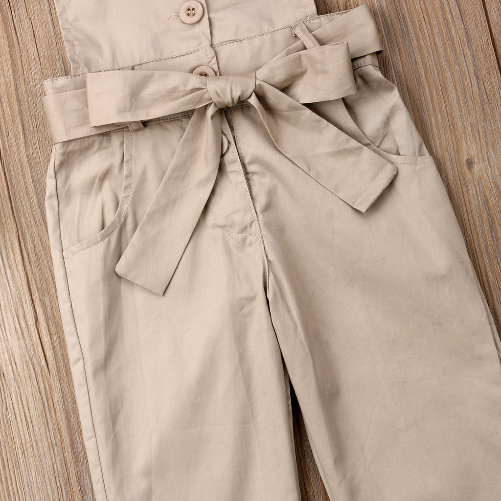 Beige Jumpsuit - babyland.cloth
