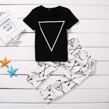 Triangle & Arrow Outfit 2PCS - babyland.cloth