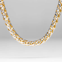 Load image into Gallery viewer, 14KT Diamond Cut Solid Gold Franco Chain