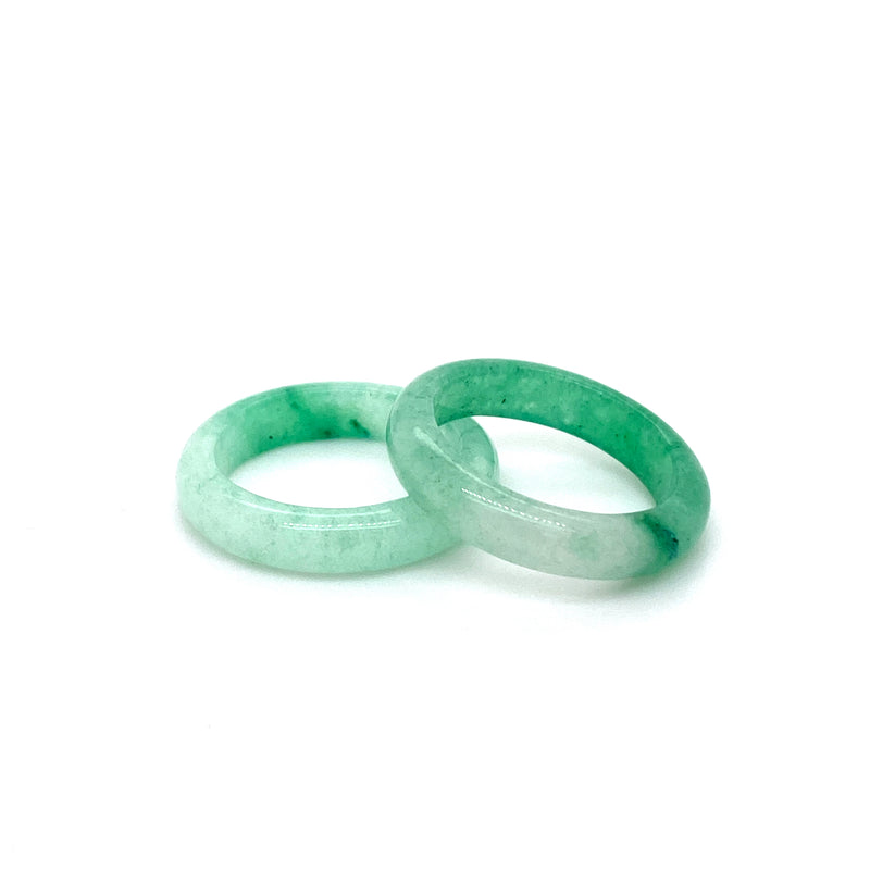 Genuine Thin Jade Ring