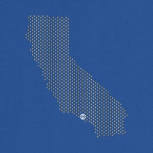 Load image into Gallery viewer, Los Angeles, California Basketball Map Stats T-Shirt
